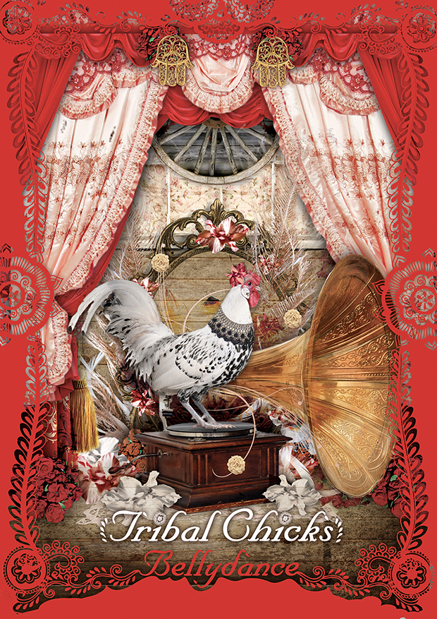 Affiche Tribal Chicks Bellydance