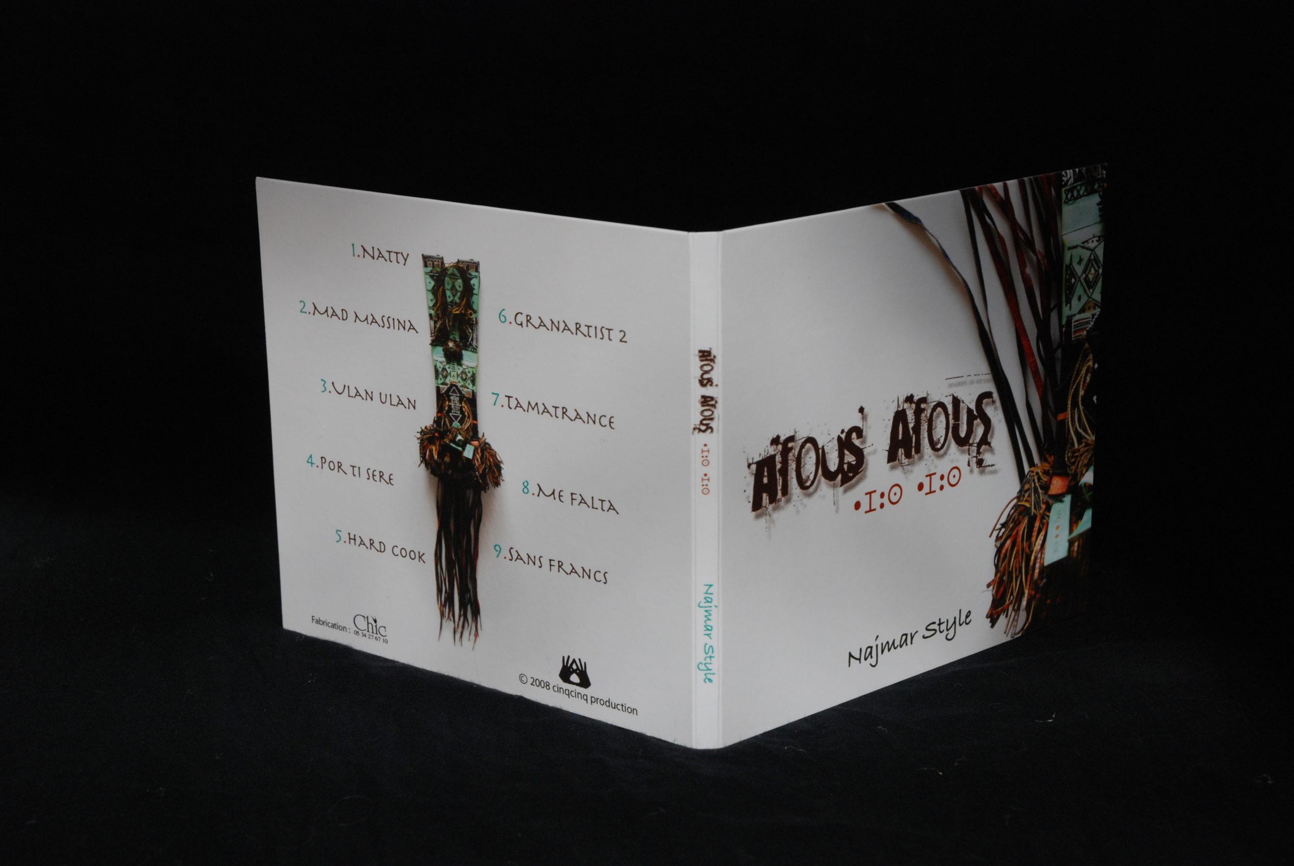 """Pochette d'album et Photo """" Najmar Style """" de Afous Afous"""