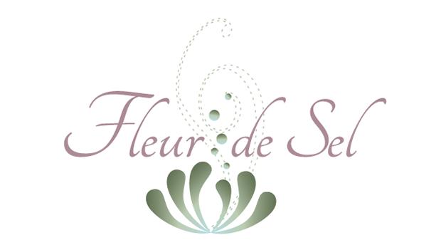 Création de logo Fleur de Sel, Cours de francais pour etrangers