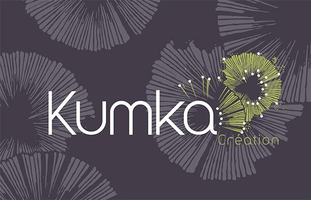 Création Logo Kumka, Créatrice d'accessoires et bijoux
