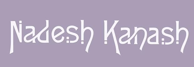 Création de Typo / logo Nadesh Kanash